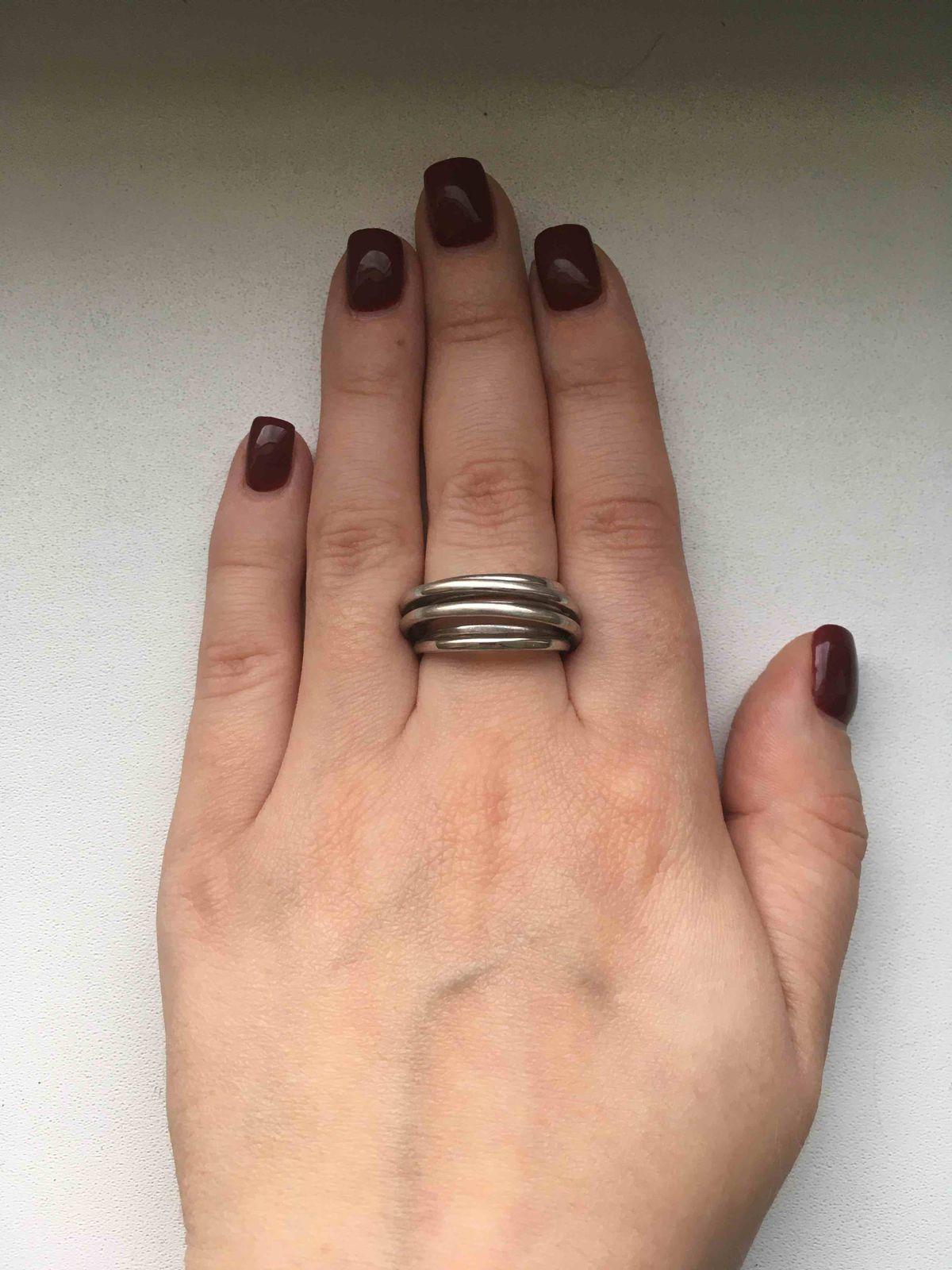 Кольцо объемное