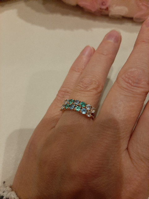 Обалденное кольцо.