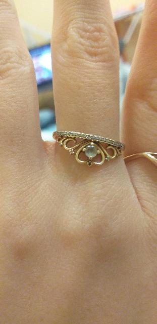 Красивое кольцо
