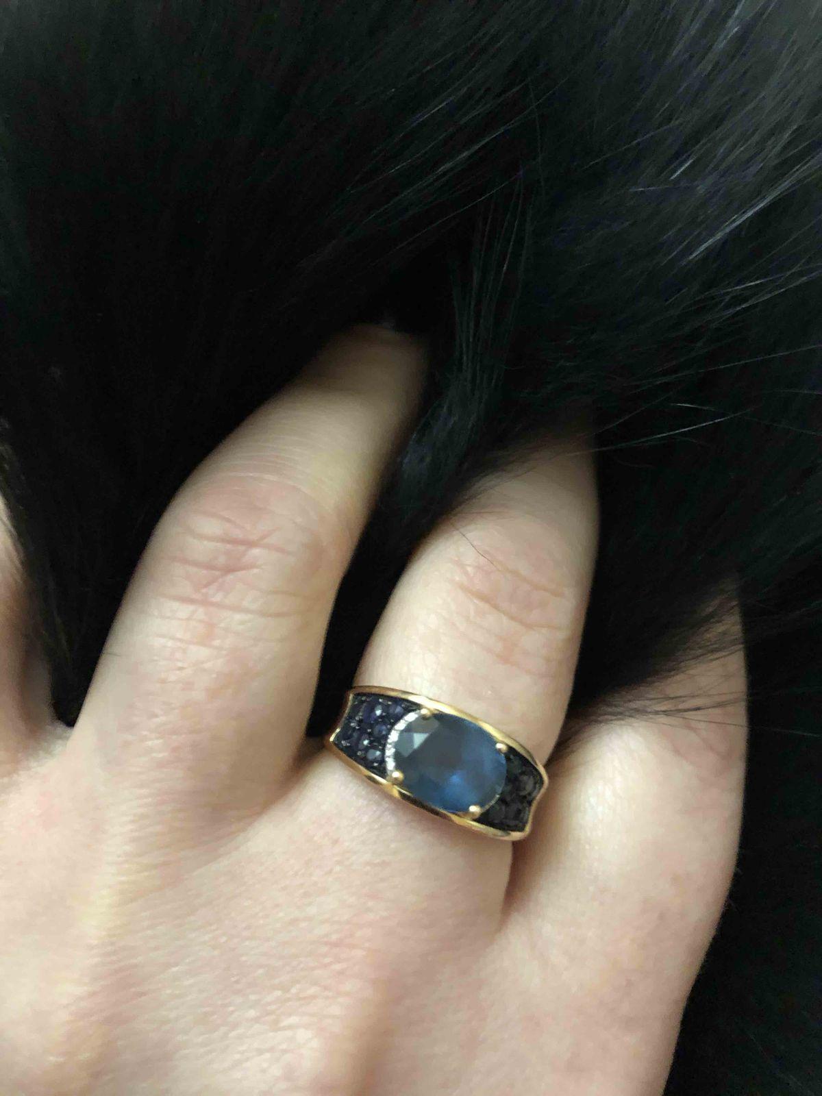 Достойное украшение для девушки(кольцо и серьги)ЛЮКСОВЫЙ НАБОРЧИК
