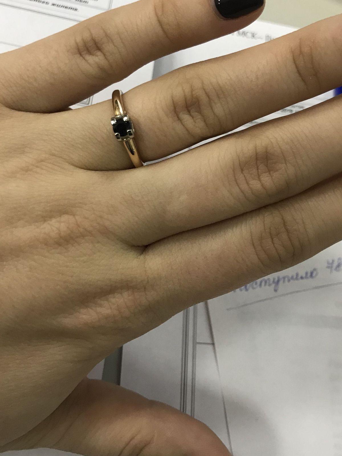 Прекрасное кольцо на каждый день