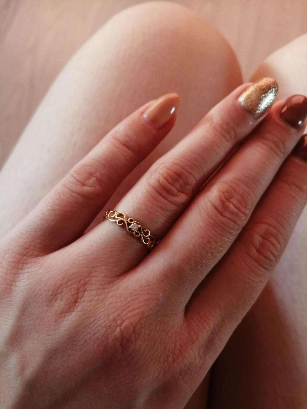 Теперь это моё любимое кольцо