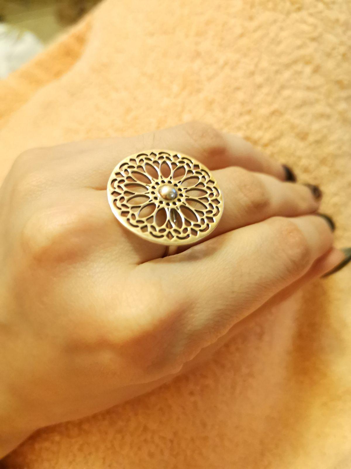 Кольцо серебро, 925 проба
