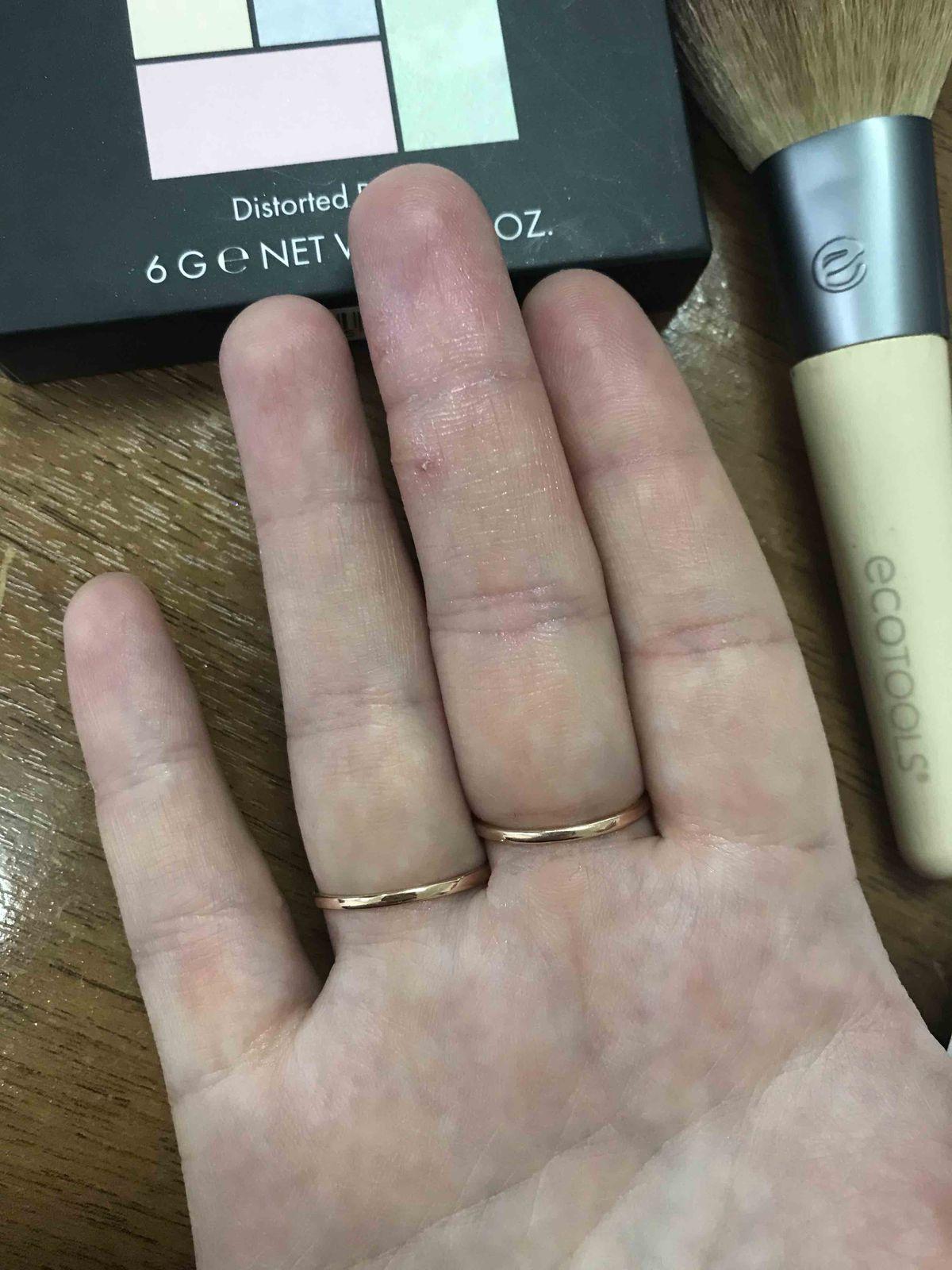 Тонкое кольцо-дорожка