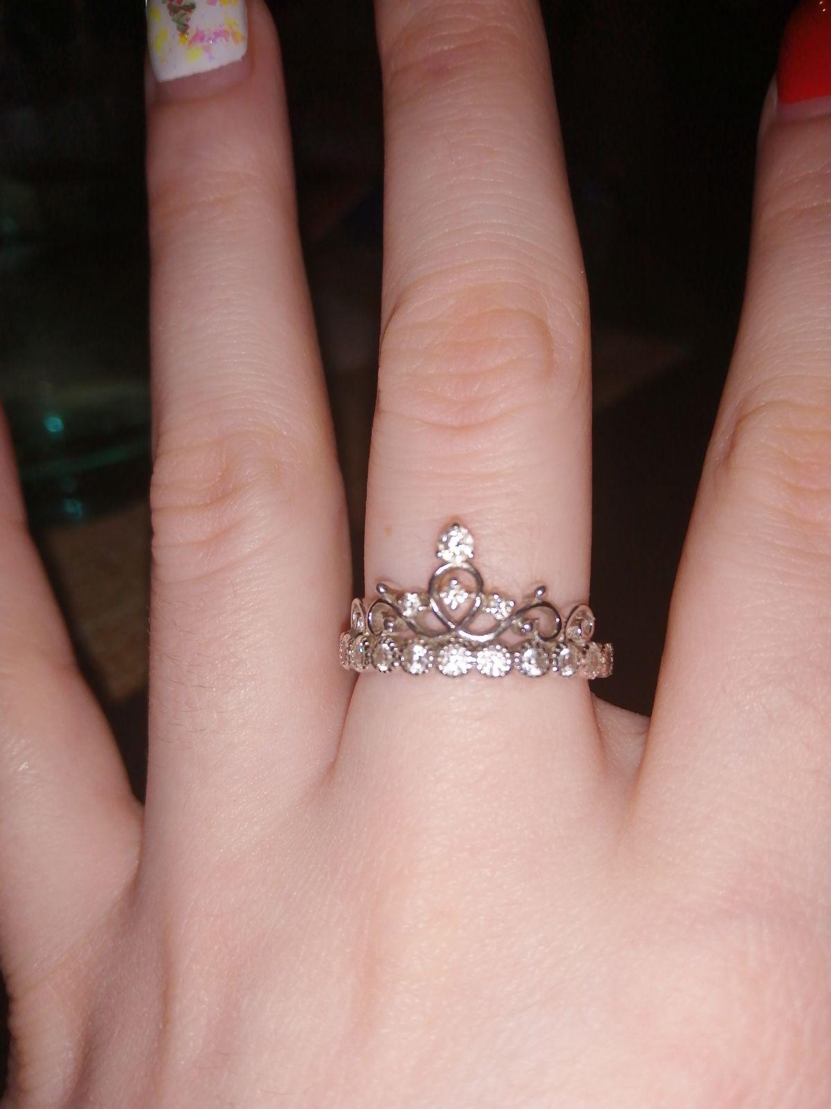 Хорошее и удобное кольцо)