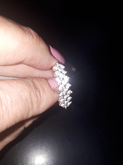 17,5 размер кольцо с бриллиантами