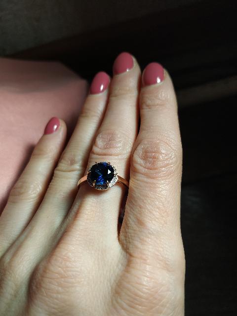 Кольцо для мамы на юбилей