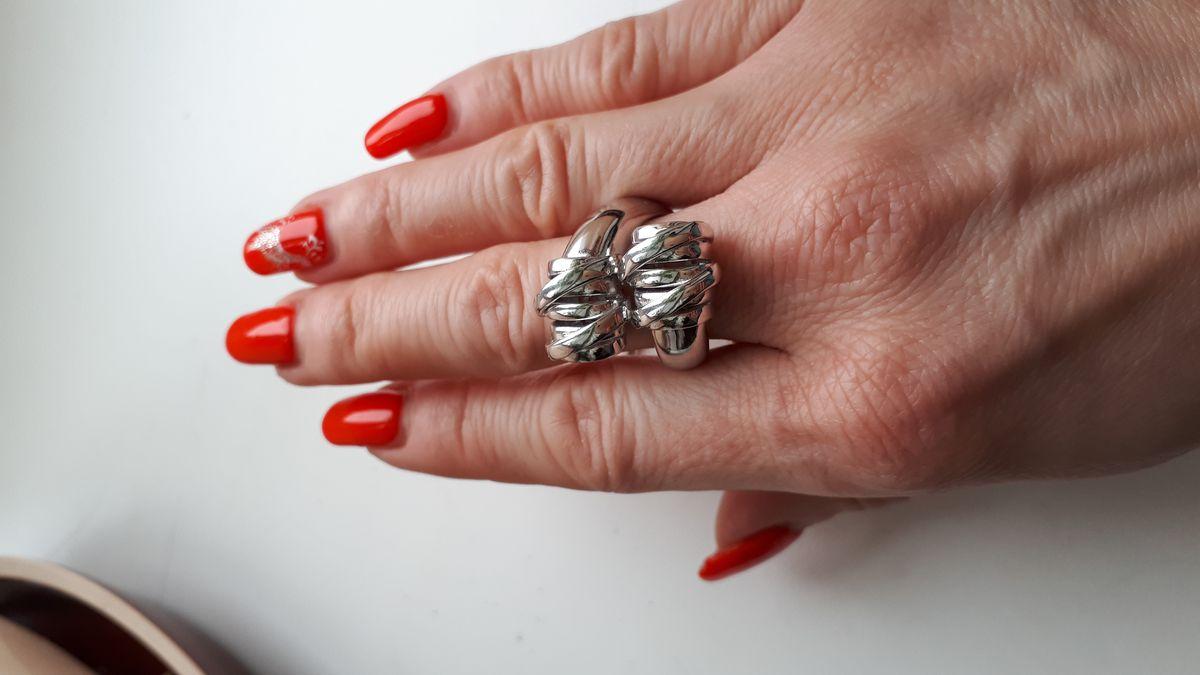 Массивное кольцо для тонких пальчиков!!!