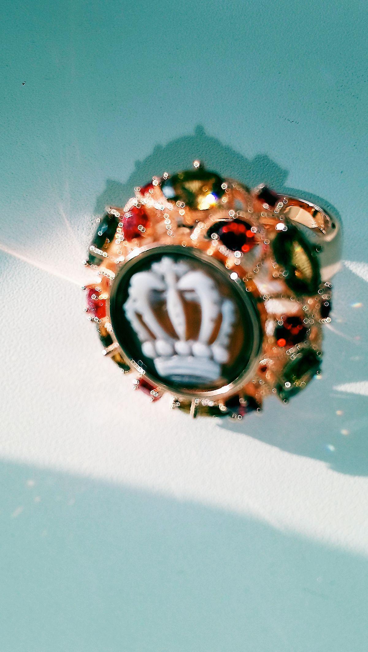 Перстень с камеей