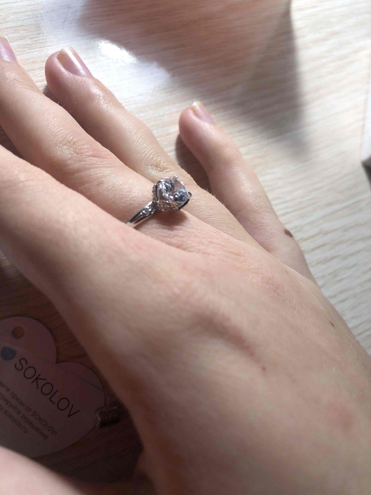 Очень красивое кольцо,стоит своих денег