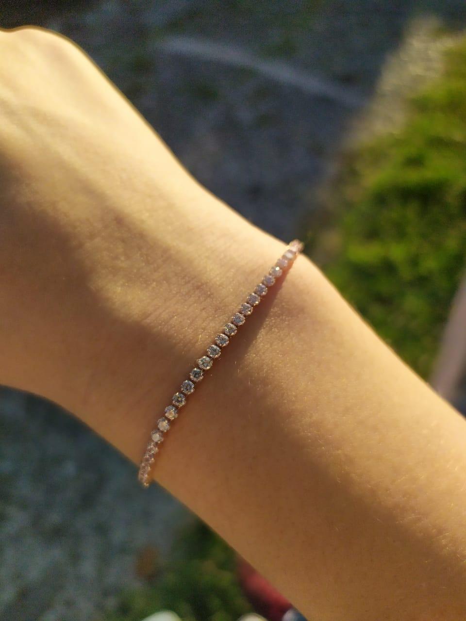 Моей девушки очень понравился браслет