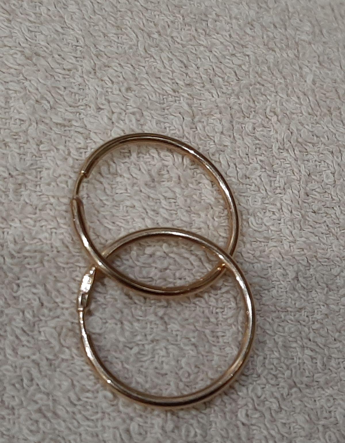 Золотые колечки-конго(похожие у меня в детстве были)