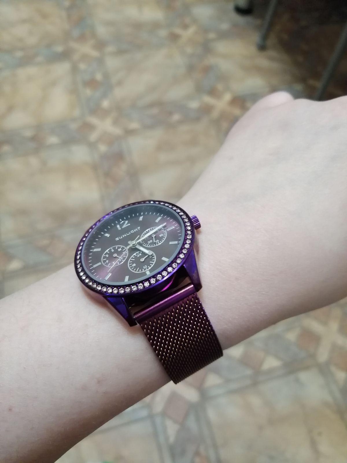 Очень аккуратные, красивые часы