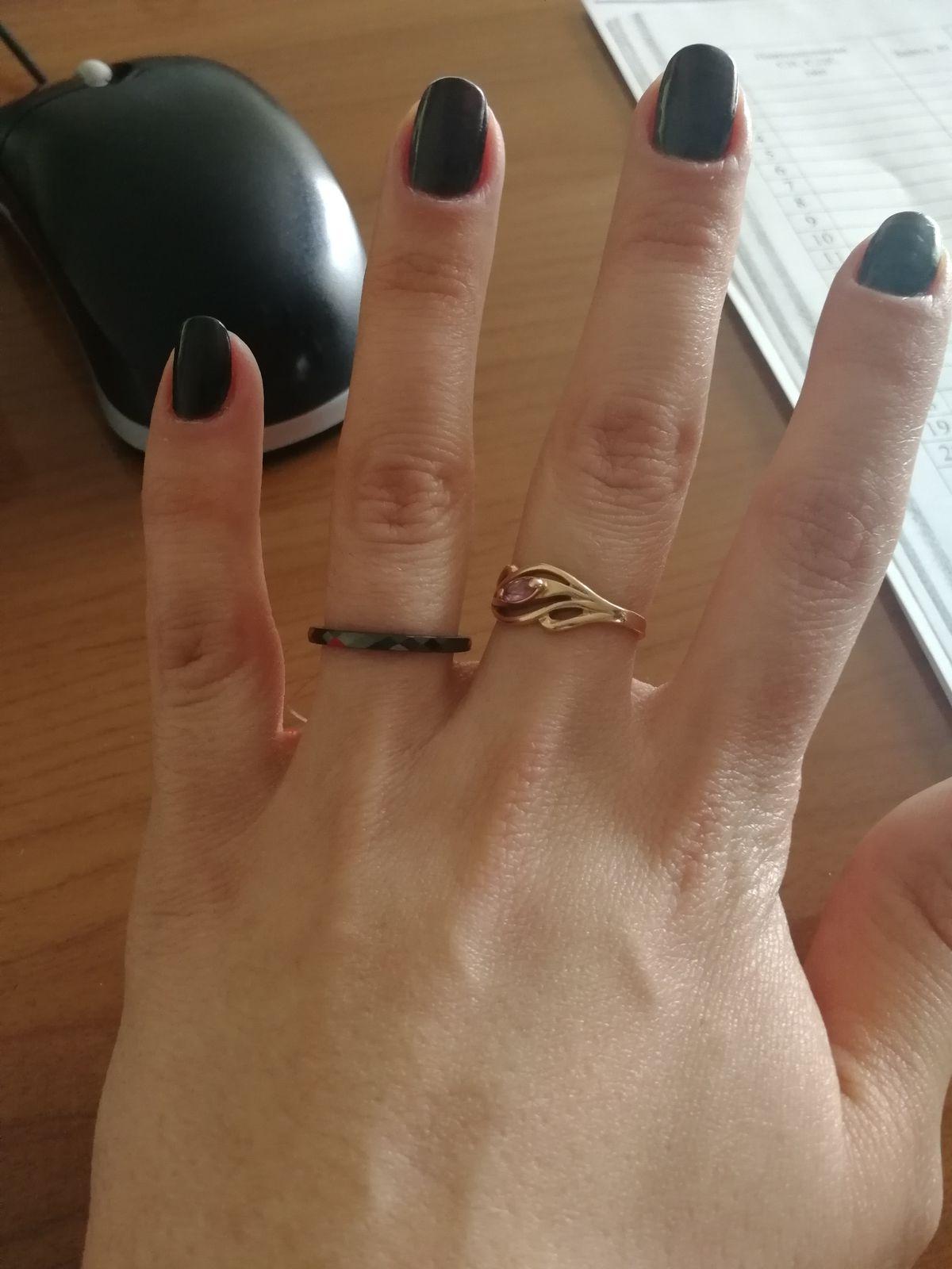 Отличное керамическое кольцо