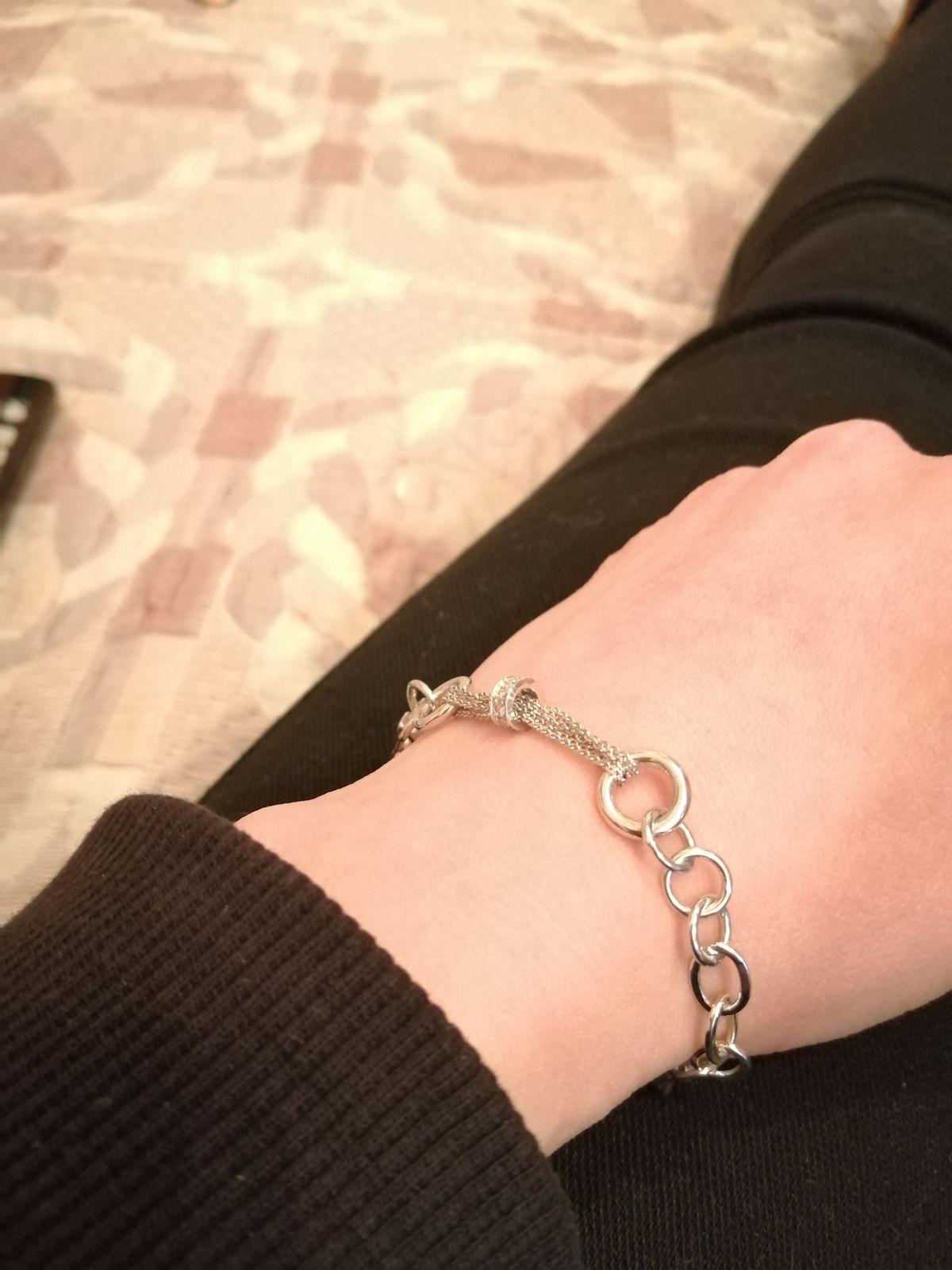 Необычный комбинированный браслет!