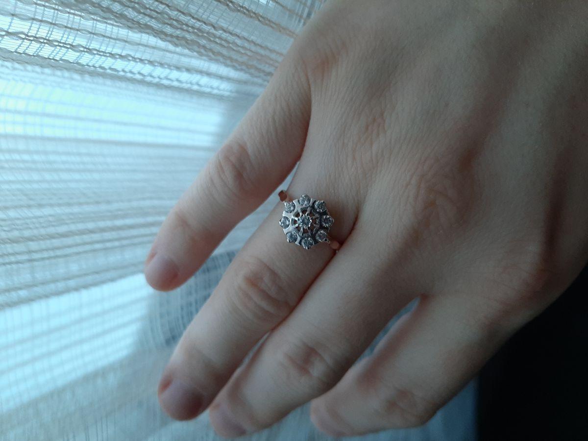 Золотое этническое кольцо