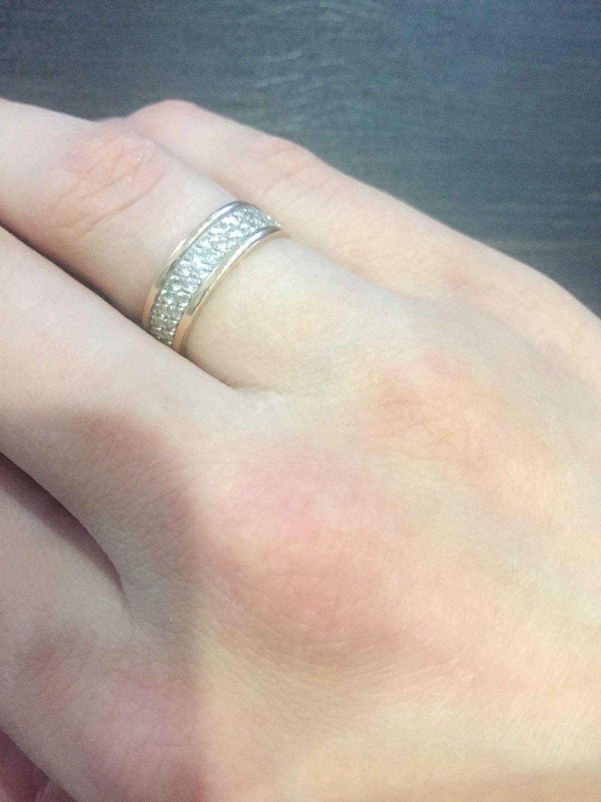Хорошое и оригинальное кольцо