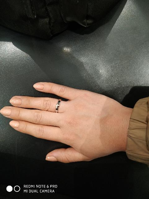 Мое первое кольцо 😍