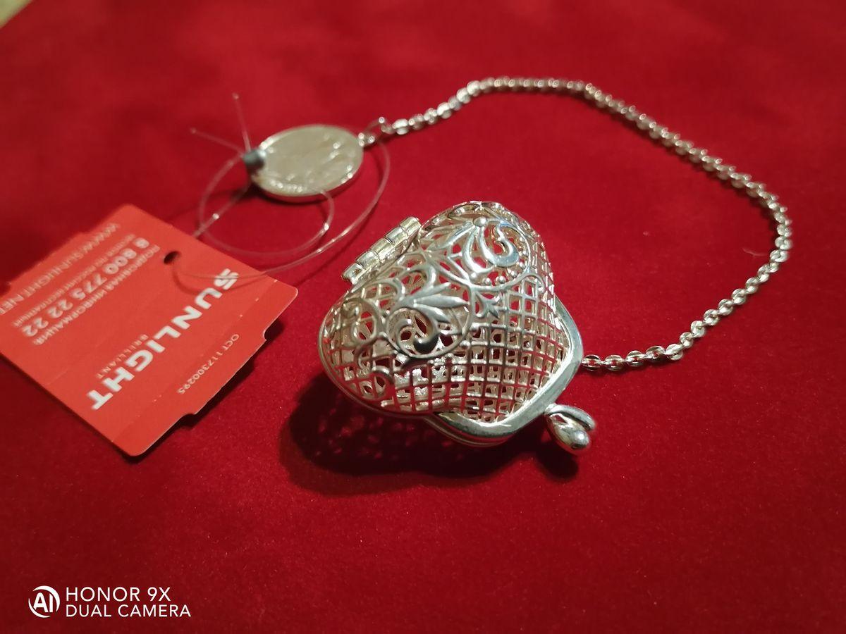 Классный серебряный кошелёк!