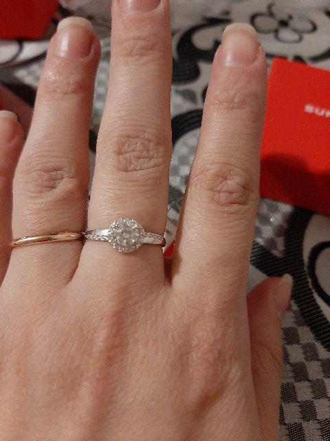 Очень нежное кольцо)