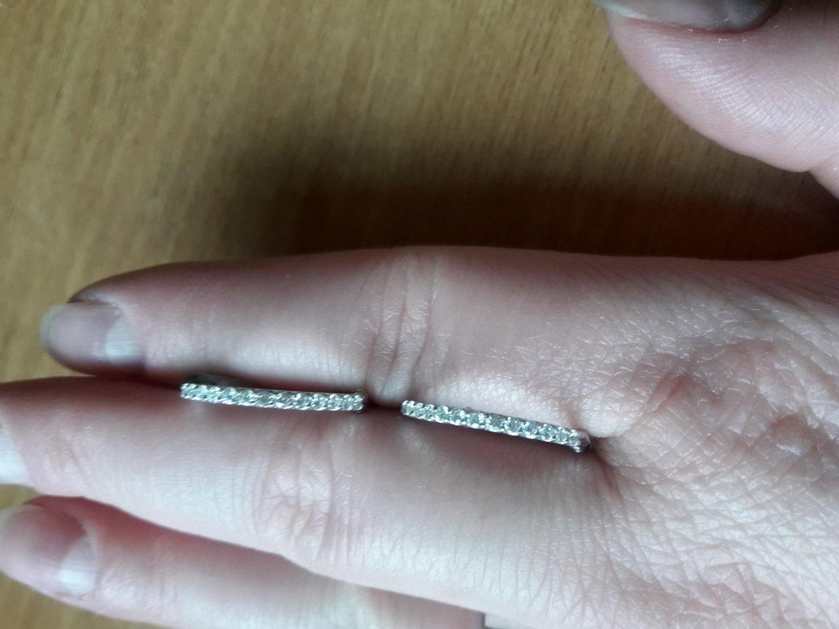 Серебряные серьги-конго с фианитами