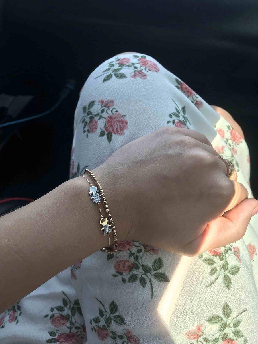 Обожаемый браслет с бриллиантовыми детками!