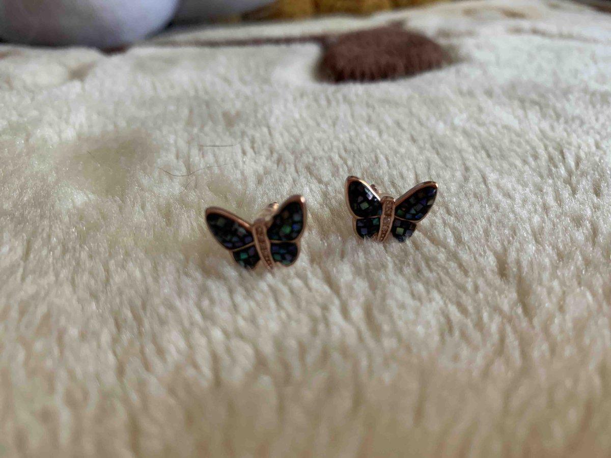 Серьги бабочки!!!🦋