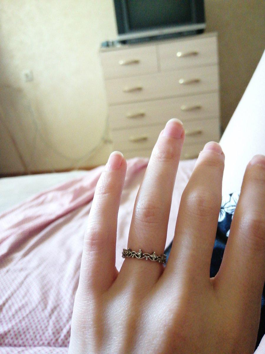 Кольцо на фалангу🙈
