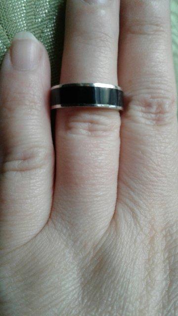 Отличное серебряное кольцо с эмалью
