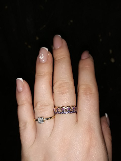 Влюбилась в это кольцо