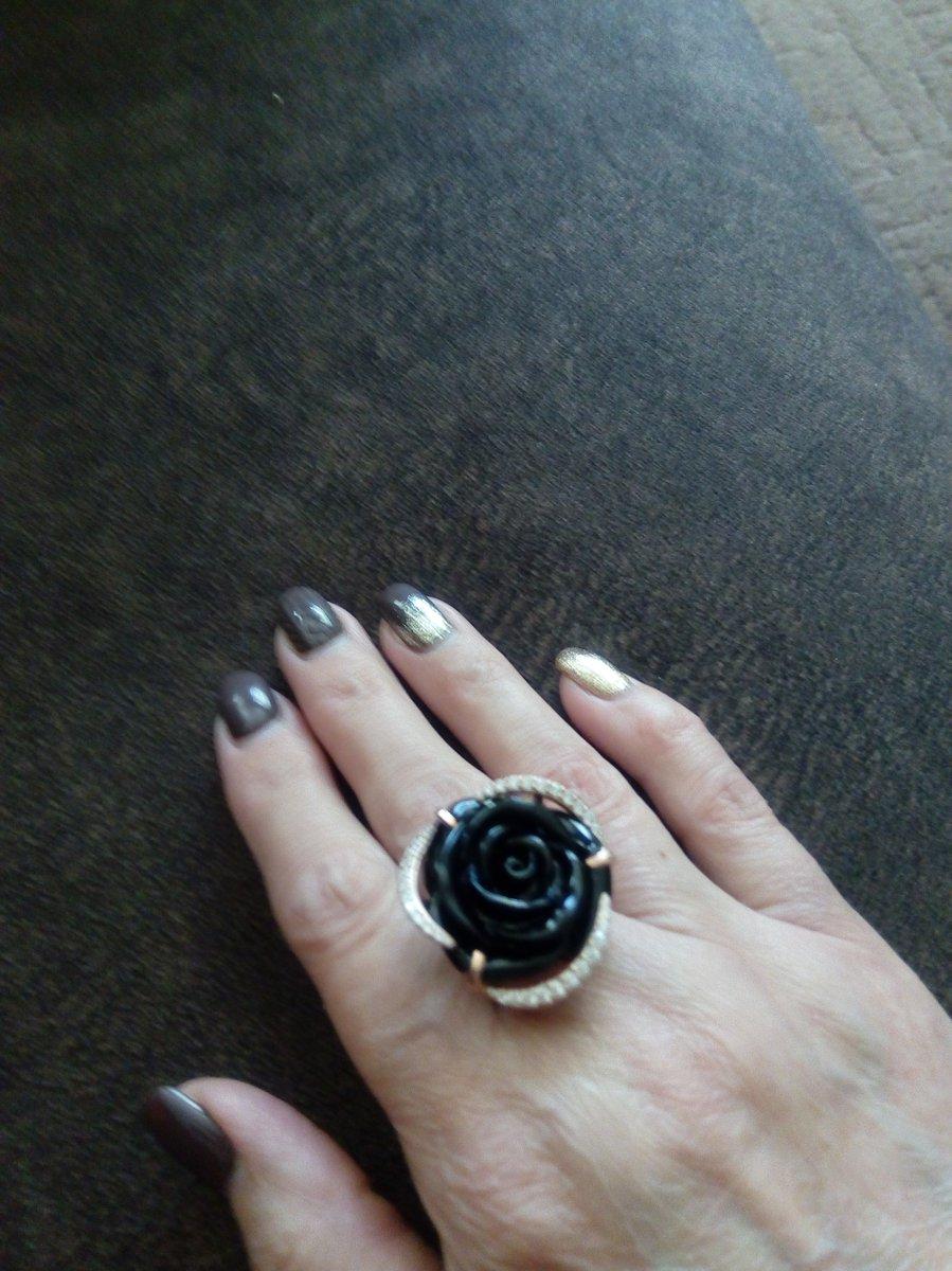 Кольцо с агатом.