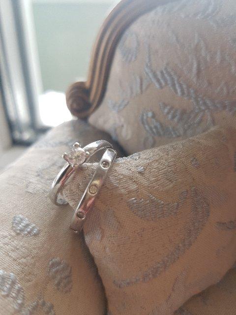 Стильное серебрянное кольцо
