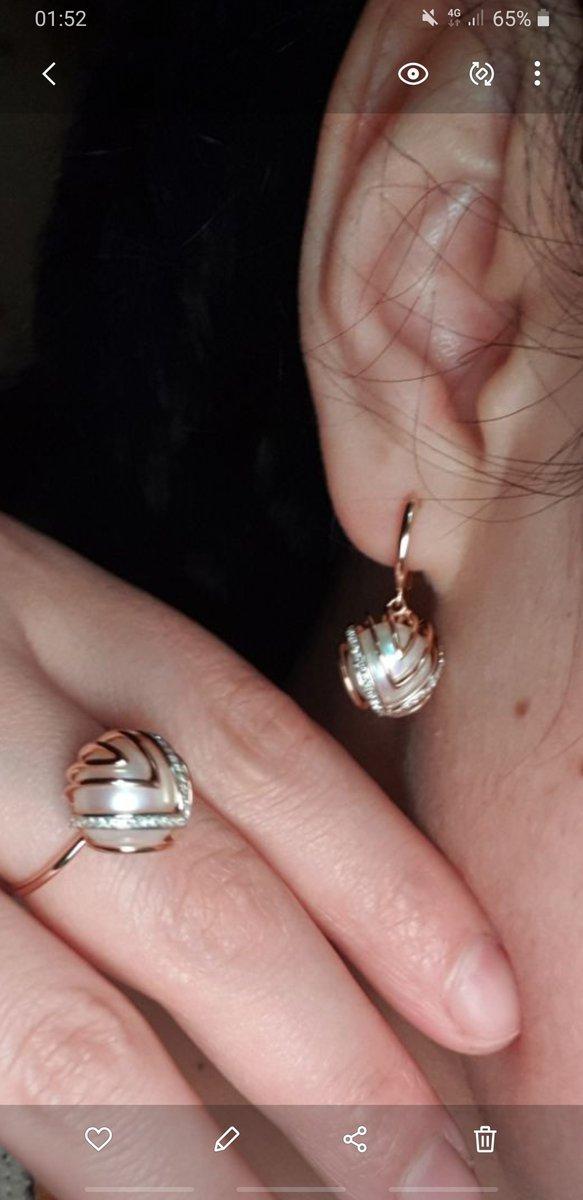 Крупная бриллиант блестящая жемчуг мне очень понравился