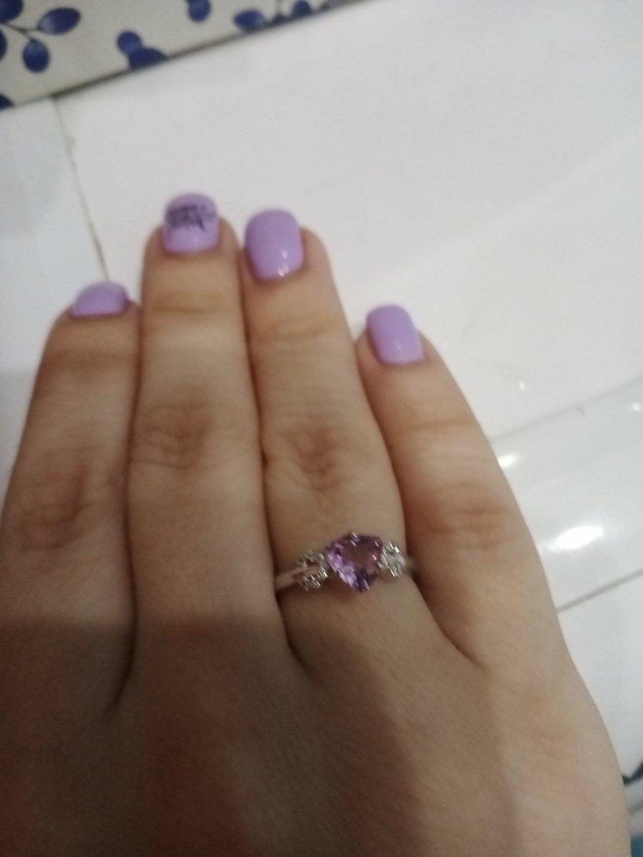Купила себе кольцо в подарок