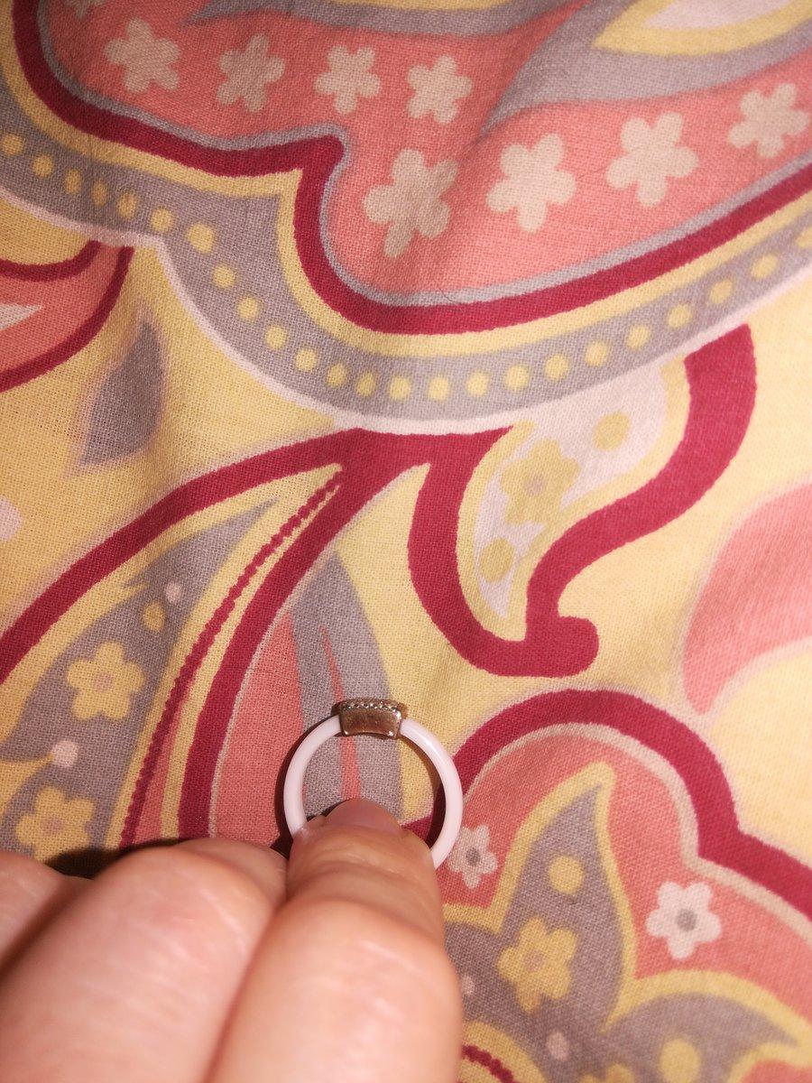 Кольцо красивым было не долго(