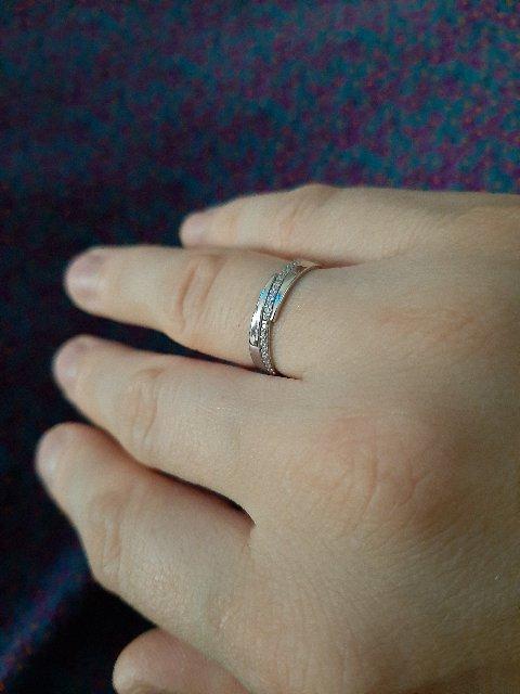Классическое универсальное кольцо из серебра