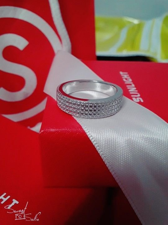 Серебряная кольца