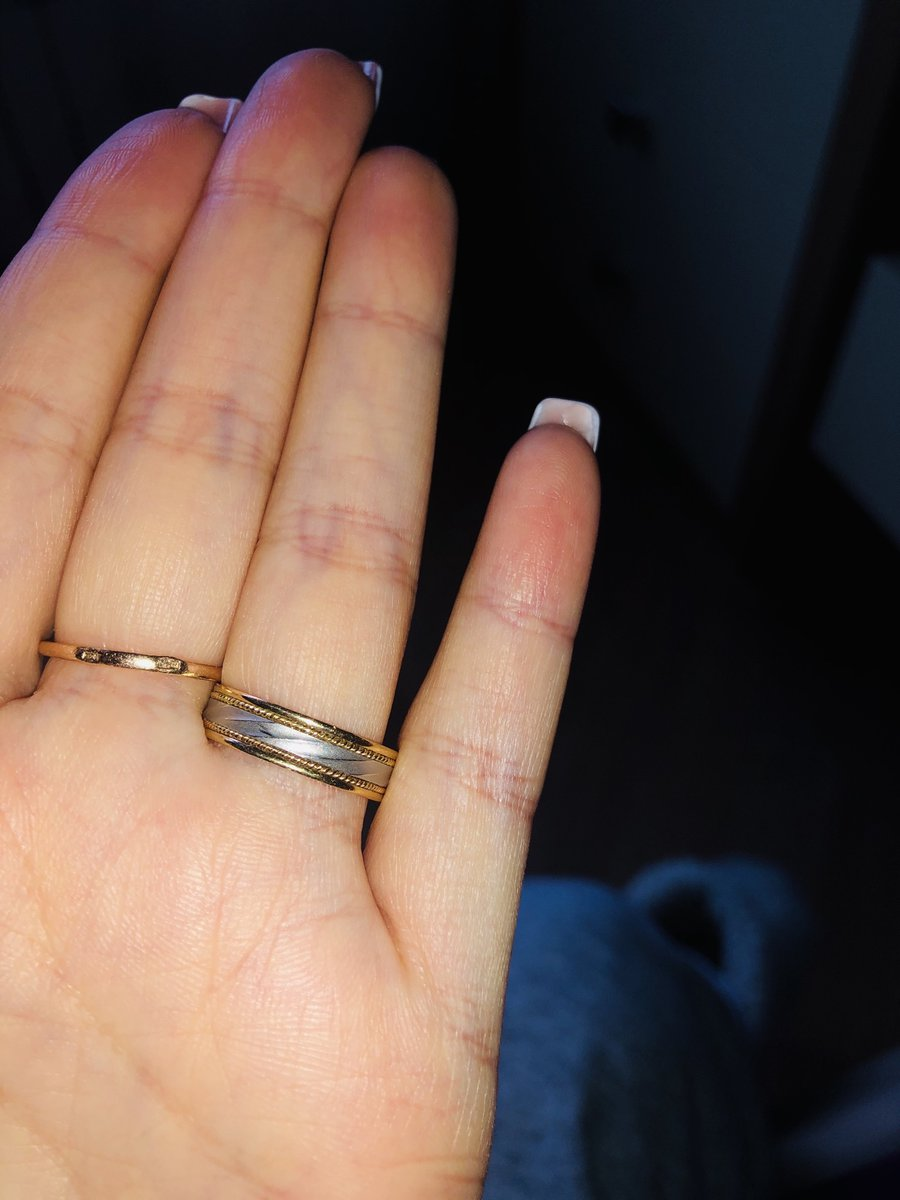 Обручальное кольцо - удобное!
