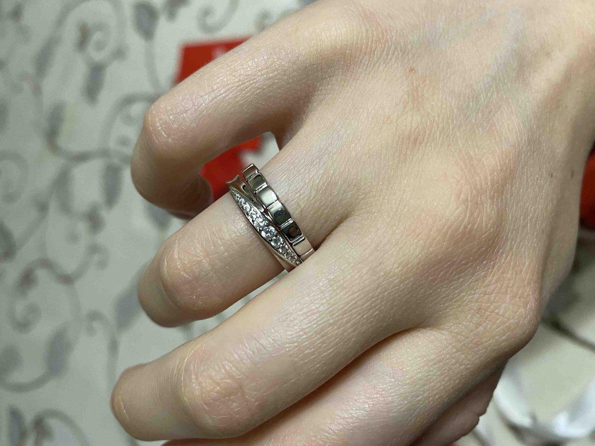 Милое аккуратное кольцо