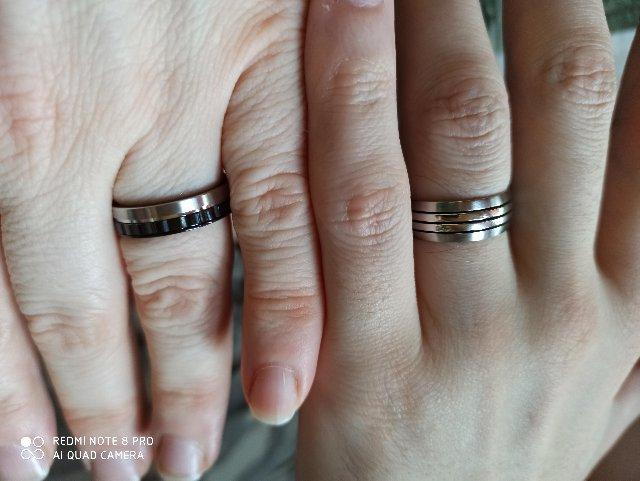 Кольца к стальной свадьбе.