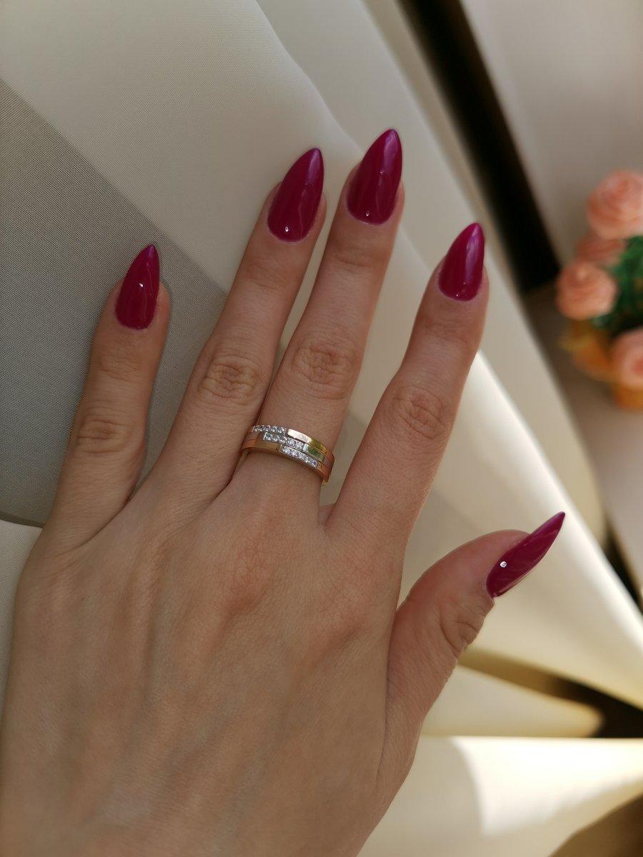 Объёмное эффектное кольцо!