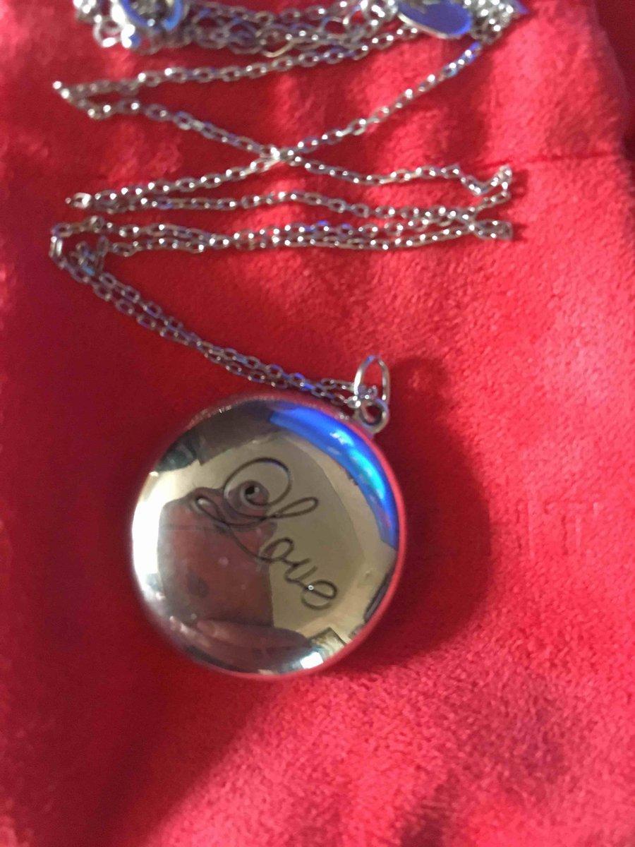 Медальон серебро