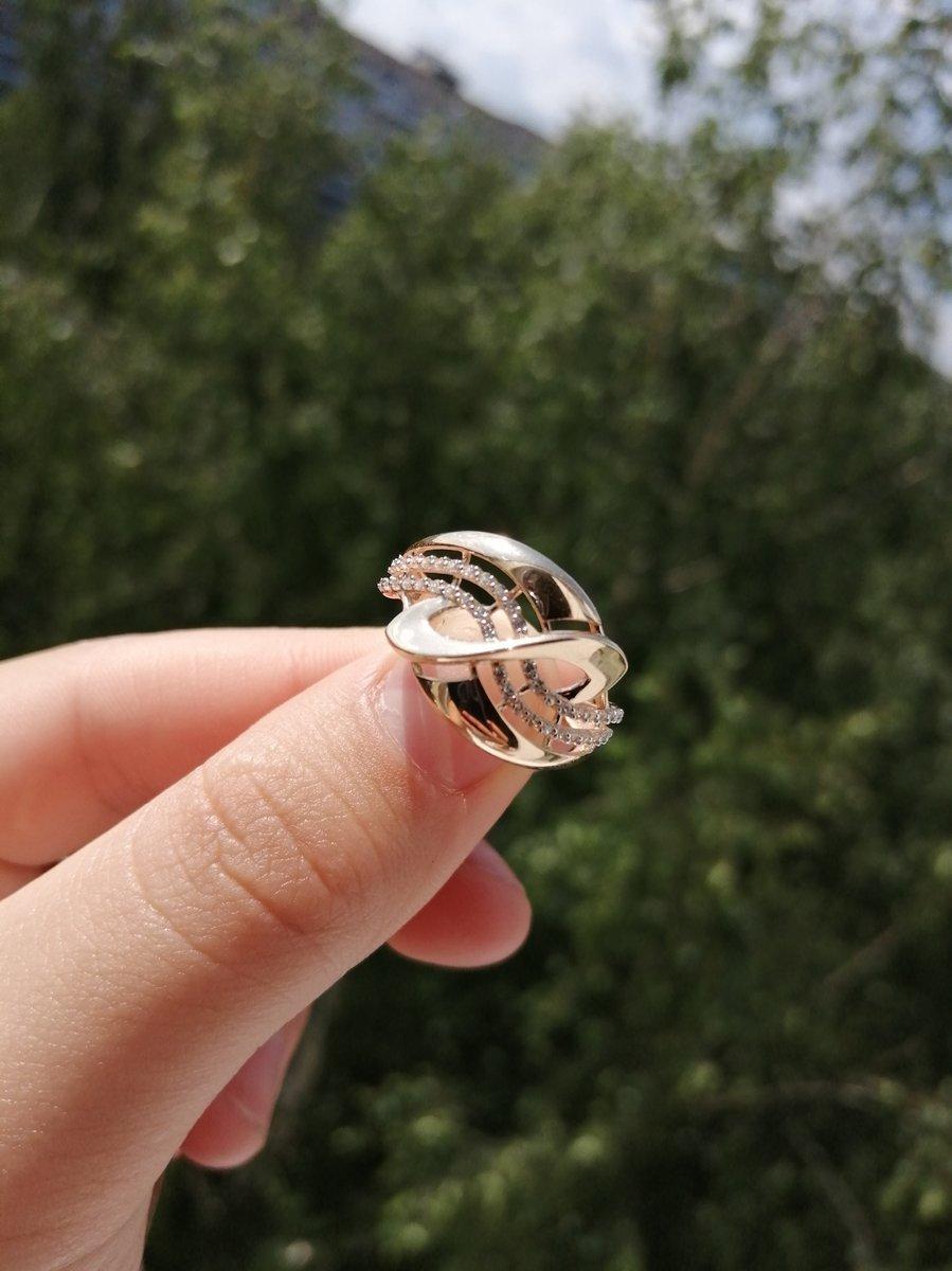 Сегодня получила колечко. Очень симпатичное красивое кольцо.