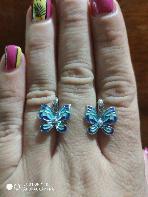 Великолепные серьги бабочки!!!!