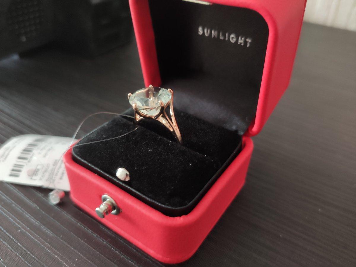Классное кольцо! Как на фото. Размер в размер. Переживала напрасно.