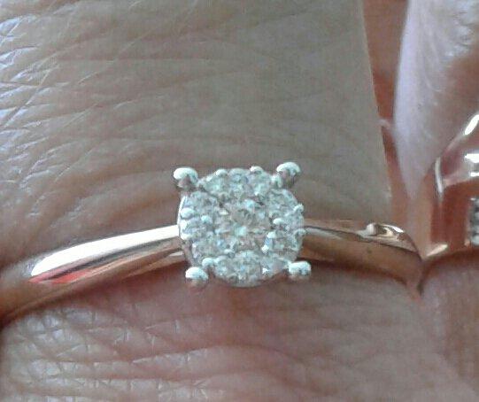 Бриллианты Якутии, кольцо.
