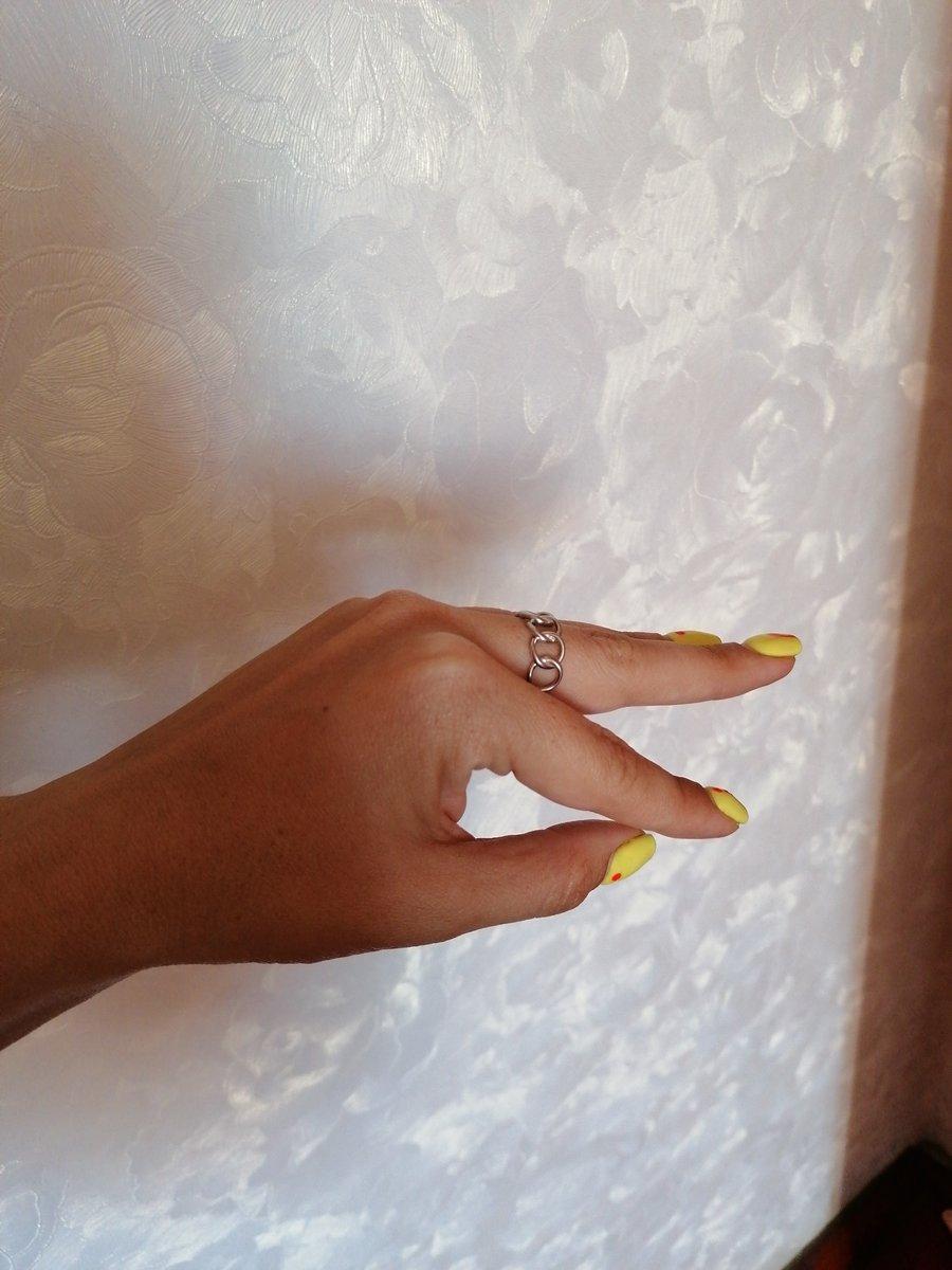 Стильное базовое кольцо