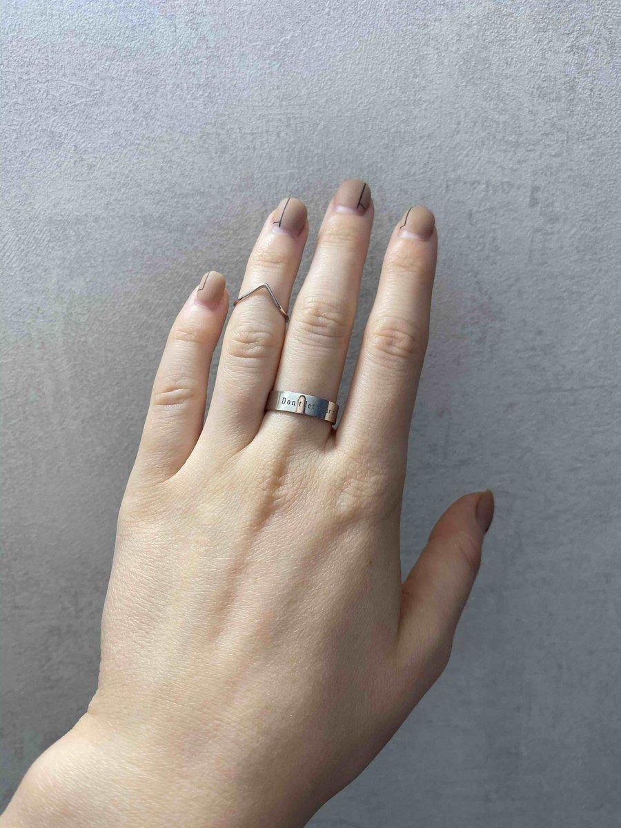 Гармоничное кольцо на фалангу
