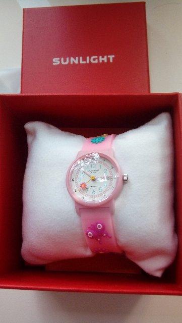 Приобрела детские часы от санлайт на день рождения внучки.