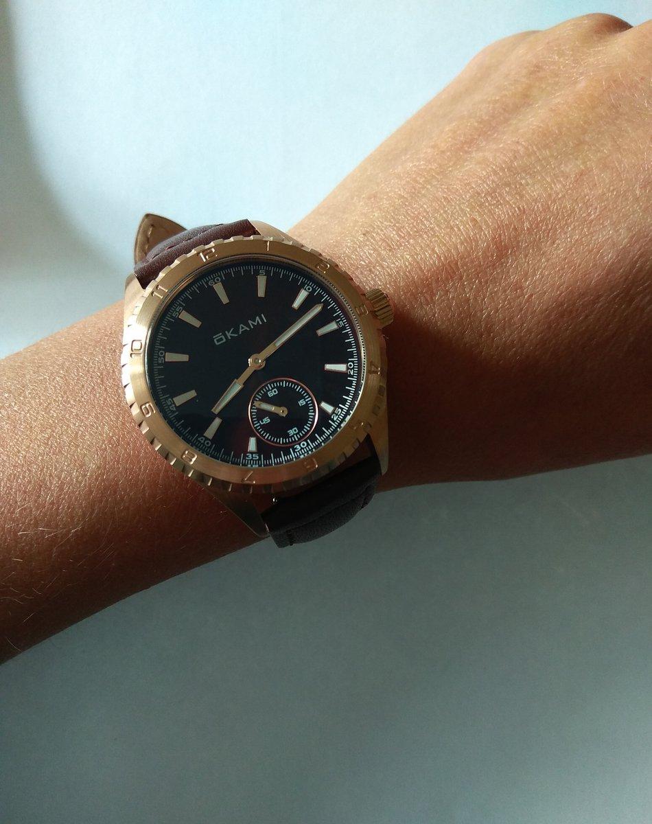 Часы OKAMI - хороший выбор.